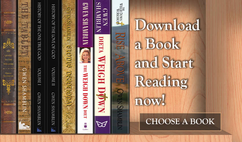 Choose a book from the Weigh Down Library