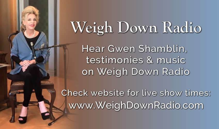 Join us for Weigh Down Radio Today at 11:30am Central Time!
